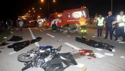 tragedi kesas highway