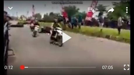 video kecelakaan sidoarjo
