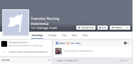 akun palsu yamaha racing indonesia