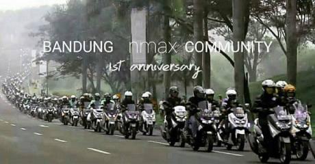 Bandung Lautan NMAX, Dedy Mizwar Lepas Rombongan Jambore Nasional Indonesia Max Owners (1)