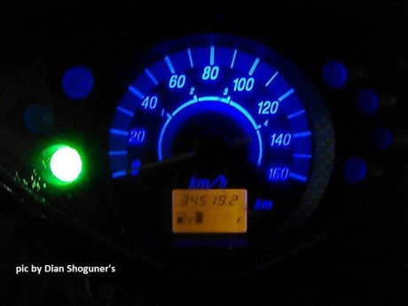 speedometer led shogun