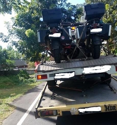 truk angkut mobil angkut motor