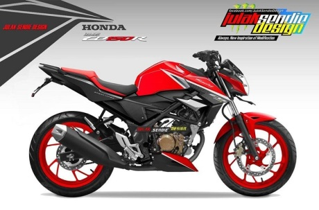 all new cb150r red champion