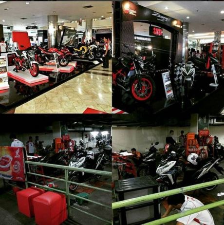 Launching All New CBR150R di Bandung Indah Plaza dari tgl 11-17 April 2016  (1)