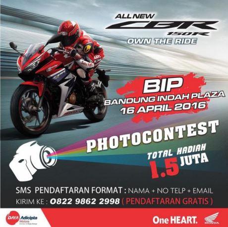 Launching All New CBR150R di Bandung Indah Plaza dari tgl 11-17 April 2016  (4)