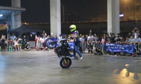 Melihat Aksi Wawan Tembong Juara Dapat Nilai Sempurna di Asean Motor Stunt Grand Prix 2016 (1)