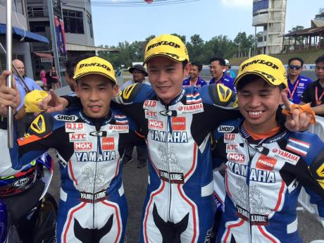 pebalap yamaha thailand racing team