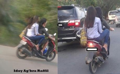 tidak pakai helm
